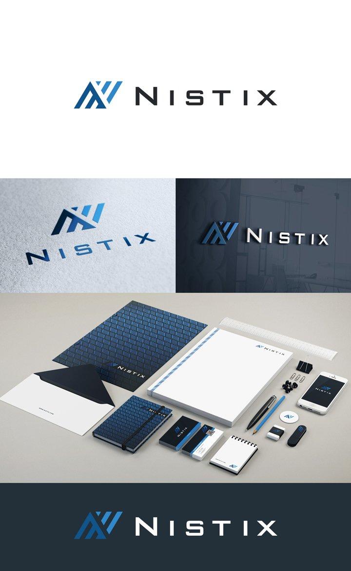 Логотип и фирменный стиль для IT компании
