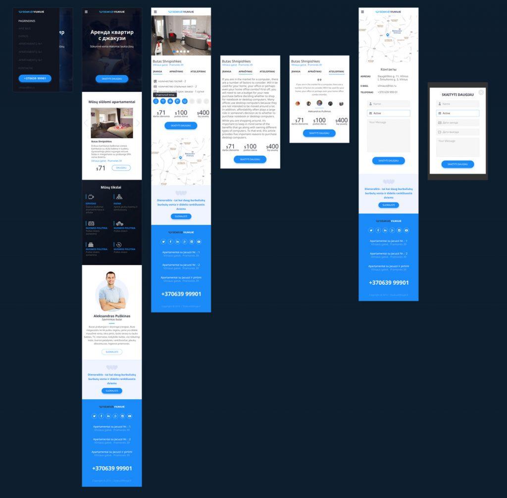 Дизайн сайта для мобильных